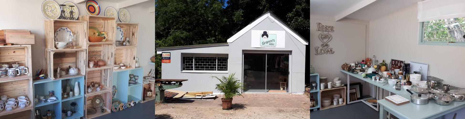 'Granny's Attic' charity shop knysna